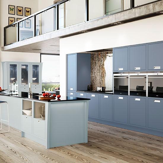 Grey Kitchen Decor Ideas: Colourful Kitchen Design Ideas