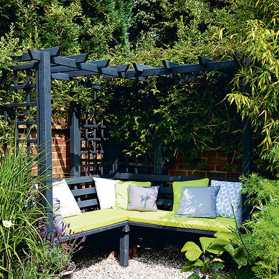 Garden Corner With Dual purpose Seating Budget