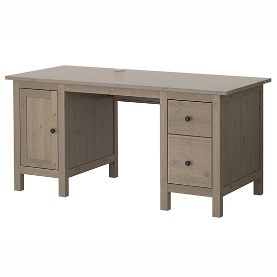 hemnes desk from ikea traditional desks shopping. Black Bedroom Furniture Sets. Home Design Ideas