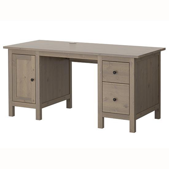 Hemnes desk from ikea traditional desks shopping - Ikea office desk uk ...