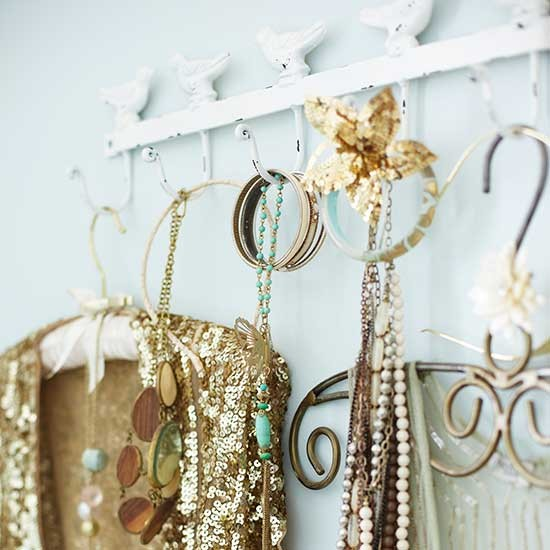 Decorative Hooks And Clothes Hangers Bedroom Storage
