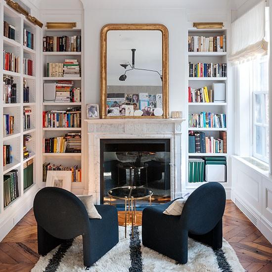 Shelving ideas design ideas for Traditional living room ideas uk