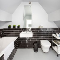 Take a look at this monochrome bathroom