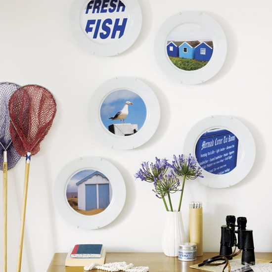 Best Of The Week 9 Instagrammable Living Rooms: Seaside-inspired Wall Plates