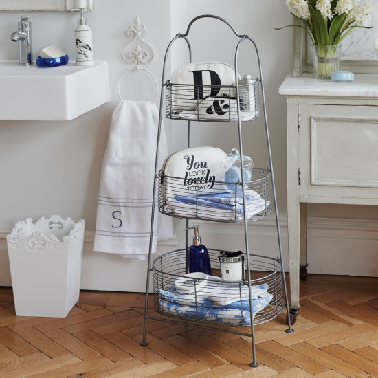 Freestanding bathroom storage | bathroom storage ideas | PHOTO GALLERY | Ideal Home | housetohome.co.uk