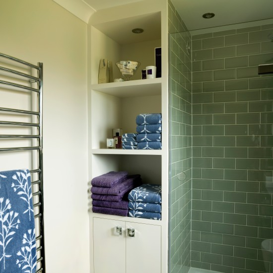 Bespoke Bathroom Shelving