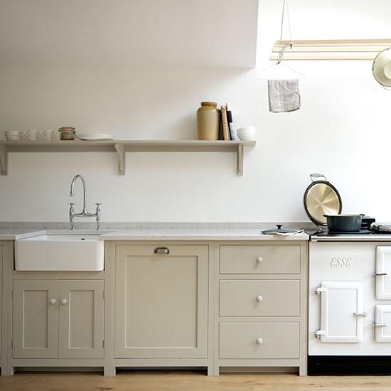 10 Best Lake House Kitchen Design Ideas: Painted Kitchen Design Ideas