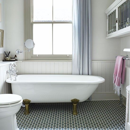 Bathroom period london house house tour housetohome for Bathroom ideas london