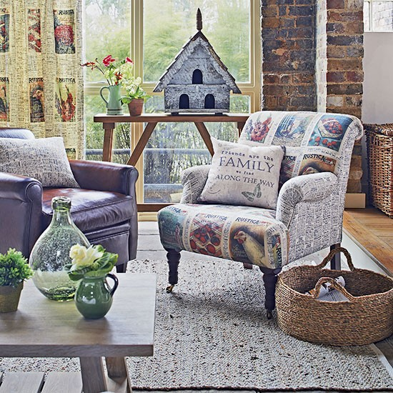 Country Motif Living Room Decorating Housetohome Co Uk
