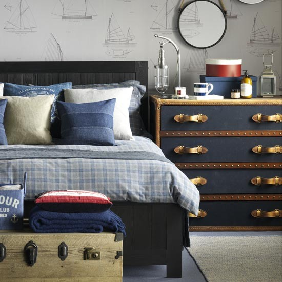 Nautical Style Teen And Bedrooms