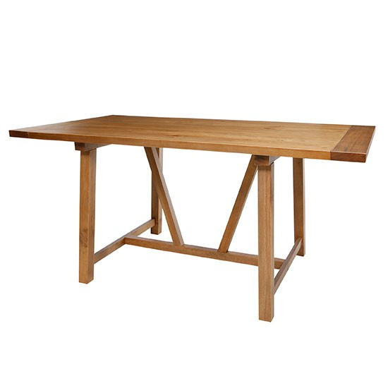 Portobello trestle dining table from Tesco Direct Dining  : Portobello trestle dining table from Tesco Direct from www.housetohome.co.uk size 550 x 550 jpeg 24kB