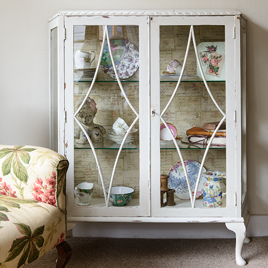 Glazed Dining Room Display Cabinet Storage