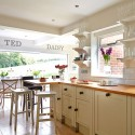 Country kitchen-diner design ideas