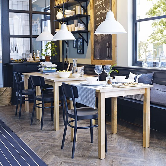 10 Best Lake House Kitchen Design Ideas: Country Kitchen-diner Design