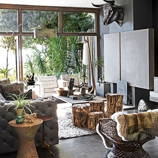 Living Room Routine Steps: Step Inside A Concrete Cape Town Home Full