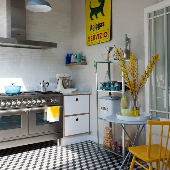 Spanish-inspired Kitchen With Yellow Accents