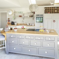 Take a look around this bright country kitchen