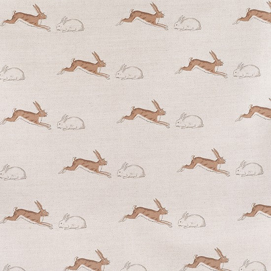 Bedroom Decor Pictures Ideas Shared Bedroom Boys Striped Bedroom Curtains Shabby Chic Bedroom Lighting: Rabbits & Hares Fabric From Emily Bond