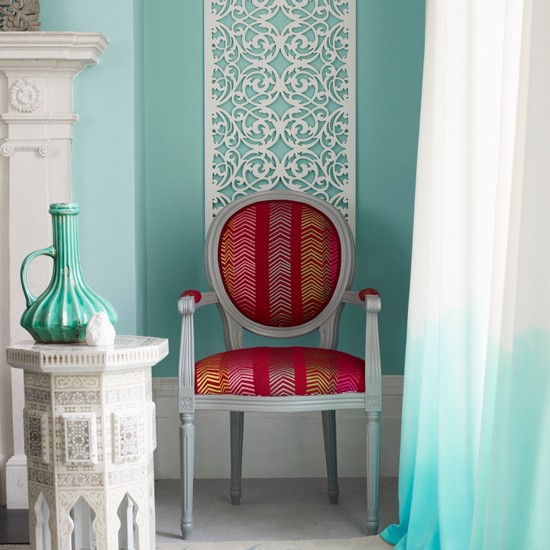 Mint green curtains for living room ~ Decorate the house with ...