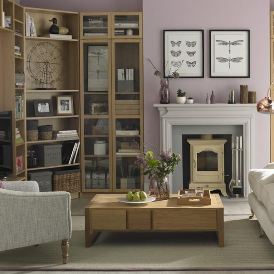 Ideas for family living rooms family living room design Lilac living room ideas