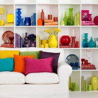 Easy ways to add colour - 10 of the best ideas