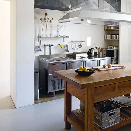 Industrial Stainless-steel Kitchen