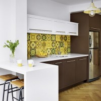 Be inspired by a vibrant retro 1960s family kitchen
