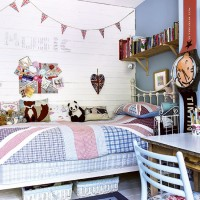 Union Jack country kids' room