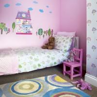Pink kids' room