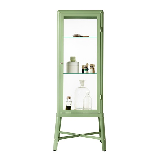 Ikea Hemnes Wickelkommode Berlin ~ Fabrikör glass door bathroom cabinet from Ikea  Bathroom cabinets