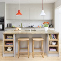 Be inspired by this contemporary grey kitchen-diner