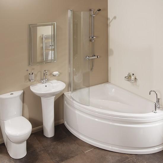 vienna offset shower bath from better bathrooms shower