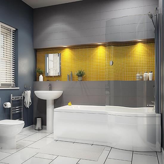 ramsay shower bath from b q shower baths housetohome co uk
