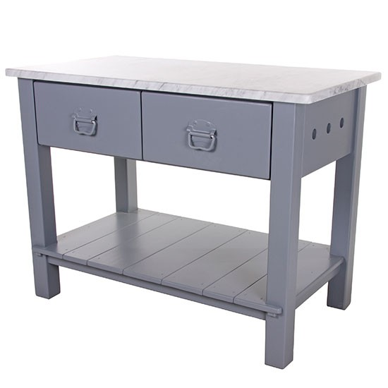 Double Drawer Worktable From John Lewis Of Hungerford