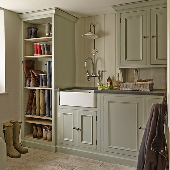 Boot Room House Tour Renovated Wiltshire Manor
