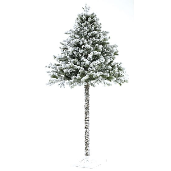 Half Christmas tree with snow from Homebase | Christmas trees | PHOTO ...