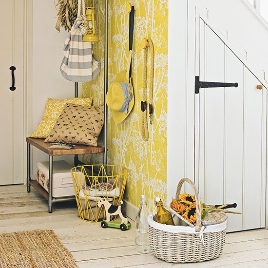 Hallway flooring ideas for Wallpaper home decor uk