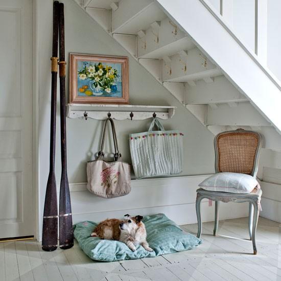 Hallway modern country house in devon house tour - Country cottage hallways ...