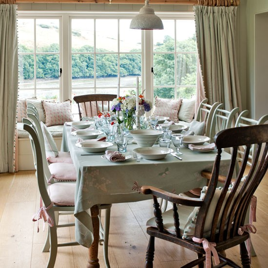 Dining Room Modern Country House In Devon House Tour