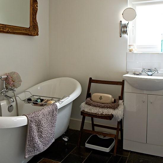 Bathroom 1930s bungalow house tour for 1930 bathroom design ideas