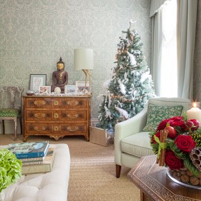 Step inside this festive Victorian home in west London