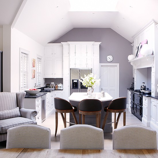 Cool kitchen kitchen ideas that work for modern families for Kitchen dining room ideas uk