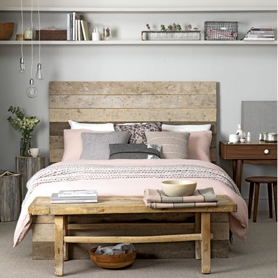 Rustic bedroom in a soft palette | Instant design ideas for warm and cosy bedrooms | Room Idea | PHOTO GALLERY | Ideal Home | Housetohome.co.uk
