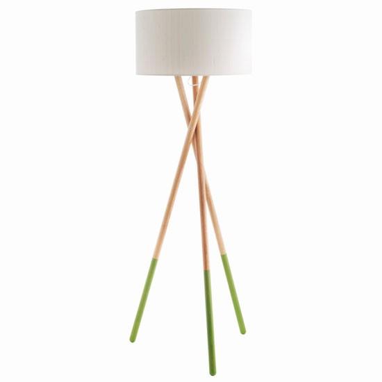 Lansbury Wooden Floor Lamp From Habitat Modern Floor