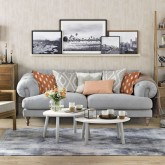 Let floating shelves revolutionise your walls