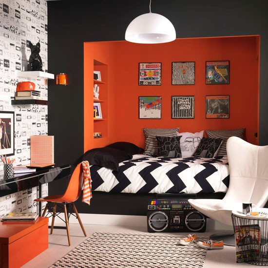 Cool Sixties-inspired boy's room | Brilliant decorating ideas for boys' bedrooms | Decorating | PHOTO GALLERY | Ideal Home | Housetohome.co.uk