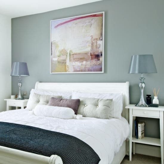 Master Bedroom With Restful Green Décor