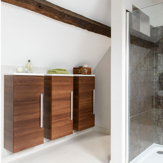 bathroom storage units bathroom suites that make the most of awkward