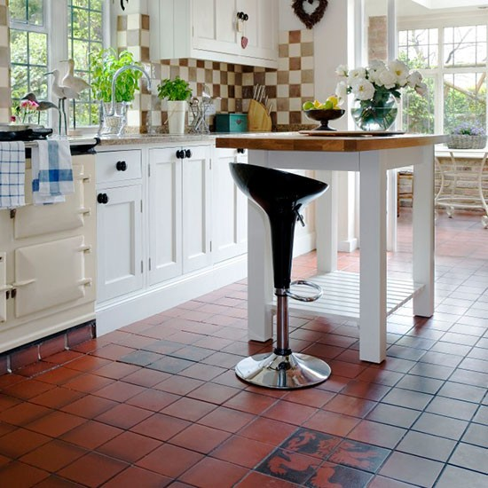 Tile dining room