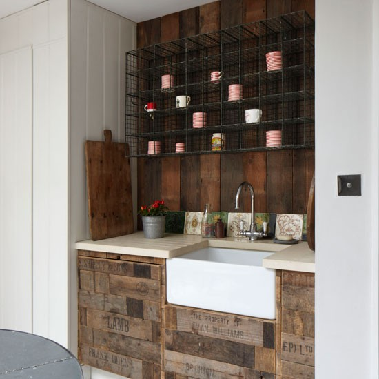 A reclaimed kitchen with 'wow' factor | Top design ideas ...